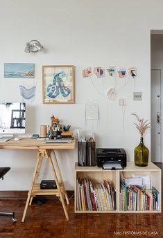 Workspace Design, Office Interior Design, Office Interiors, Workspace Inspiration, Interior Inspiration, Room Inspiration, Art Studio Room, Artist Bedroom, Ideas Hogar