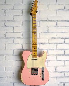 Its #teletuesday Check out this Nash Guitars T57 in Shell Pink from @mattsmusiccenter #telecaster #tele #nashguitars #nasht57 #studio33guitar Guitar Pics, Guitars, Shells, Check, Pink, Instagram, Shelled, Sea Shells, Hot Pink