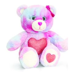 Teddy Bear Super Soft Has A Nice Shiny Pink Heart On The Belly. This Teddy Bear Gems Glitter Measures 25 Cm Tall When Standing. Teddy Bear Online, Buy Teddy Bear, Animal Delivery, Soft Toys Making, Christmas Gift Baskets, Disney Plush, Cute Stuffed Animals, Toys Online, Plush Animals