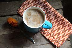 Pumpkin Chai Tea Latte.----- Mix chai tea concentrate, vanilla, cinnamon and milk in a saucepan and simmer