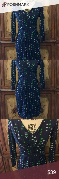 Boden Jersey Dress 6 I sure love to waste my $ lol. Wore 1x before I outgrew😛 size 6. Very stretchy. Boden Dresses