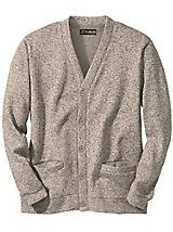 Get the best of both worlds: the incomparable warmth & coziness of a fleece, and the impeccable style of a sweater! Sweater Fleece Cardigan   Haband