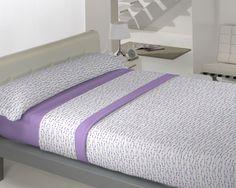 Coralina Dolce modelo Roma en malva de Llar Textil