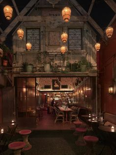 Bar Marmont, Los Angeles.     indoor/outdoor... also has a theatrical feel. could be neat for the carbaret/bar area.
