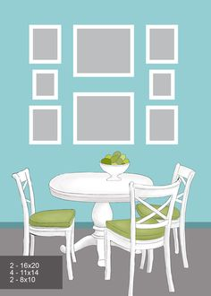HandMadera: 8 ideas to arrange pictures on the wall Kitchen Wall Art, Kitchen Decor, Kitchen Ideas, Picture Arrangements, Furniture Manufacturers, Picture Wall, Photo Wall, Picture Frames, Cool Kitchens