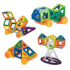 148 Piece Magnet Building Set By Magworld Zulily