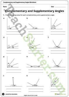 geometry worksheets angles worksheets for practice and study projects to try pinterest. Black Bedroom Furniture Sets. Home Design Ideas