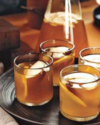 Apple-Brandy Hot Toddies ~ A hot toddy is basically a shot or two of any potent spirit added to a cup of hot water. At Paley's Place in Portland, Oregon, bartender Suzanne Bozarth puts a French spin on this warming drink with a slug of apple brandy, such as Calvados