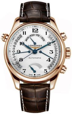 longines ( power reserve indicator at bottom of display  )