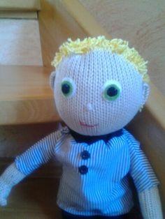 Puppe nach dem Muster von Claire Garland