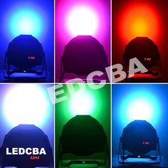Proton Par 56 18 Leds Alta Luminosidad Rgb Audioritmico Dmx - $ 788,00 en Mercado Libre