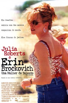 2000 Erin Brockovich  is a biographical film directed by Steven Soderbergh-- This was one of Julia Robert's better movies...and well recommended....It is not a romance!!