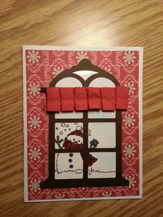 Cricut Chridtmas Solutions and CTMH Flakey Friends.