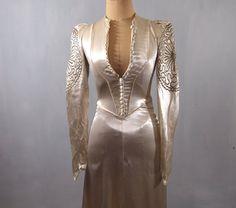 Original 1930s Silk Satin Wedding Dress  x by alexandrakingdesign, £1400.00