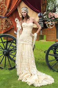 Boho Hippie Gypsy Wedding Dresses Dresses Wedding Yolan Cris