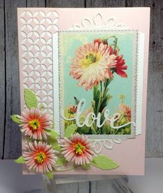 Birgit Norton created this stunning card featuring Susan's Garden Club Garden Notes Asters. Find out more on her blog: http://craftingwhileiwait.blogspot.com/2017/02/pretty-asters.html.