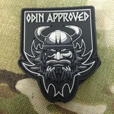 Odin Approved Limited Edition PVC Patch | Tactical Outfitters