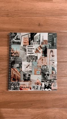 Notebook Collage, Collage Book, Scrapbook Cover, Scrapbook Journal, Travel Scrapbook, Bff Birthday Gift, Birthday Gifts For Best Friend, Bullet Journal Art, Art Journal Pages