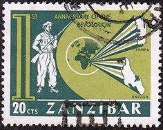 Zanzibar Revolution Issue 20 CTS 1960s