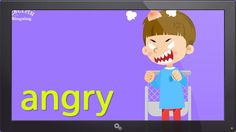 Kids vocabulary - Feel (Feelings or Emotions) - Are you happy? - English...