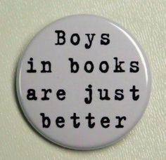 Boys are always better in books..