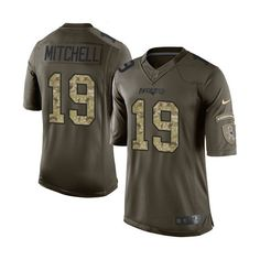 9a875059a83 Men s Nike Cleveland Browns Britton Colquitt Limited Green Salute to Service  NFL Jersey nfl youth jersey sale