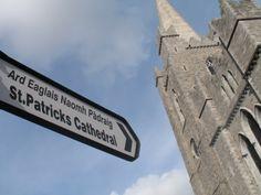 De indrukwekkende grijze steenmassa van de in de 19e eeuw grondig gerestaureerde Anglicaanse St. Patrick's Cathedral. Wie hier begraven is, is van grote betekenis geweest voor de cultuur en historie van Ierland. De financier van de omvangrijke renovatie is sir Benjamin Guinness (zoon van de beroemde bierbrouwer Arthur Guinness).