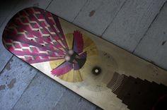 Owl - Artwork for FVTVRA skateboards