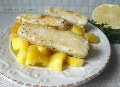 Filetto di merluzzo al limone