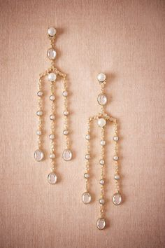BHLDN Galina Chandelier Earrings in  Shoes & Accessories Jewelry at BHLDN