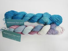 Enter to win Expression Fiber Arts Shimmering Cashmere Yarn! One lucky winner will receive 2 skeins of Shimmering Cashmere in Caribbean and Lavender and Light 2. The deadline to enter is April 10, 2016 at 11:59:59 p.m. Eastern Time.