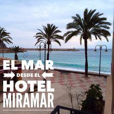 Aduanas del Mar desde el Hotel Miramar