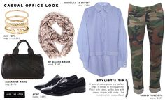 Chill Out | Look 2 by Hampden Clothing | Featuring Derek Lam 10 Crosby, Harvey Faircloth and more!