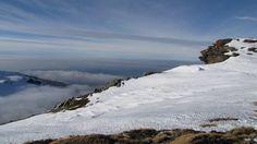Nieve y nieblas Sierra Nevada