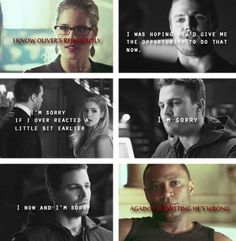 Arrow - Diggle & Felicity <3