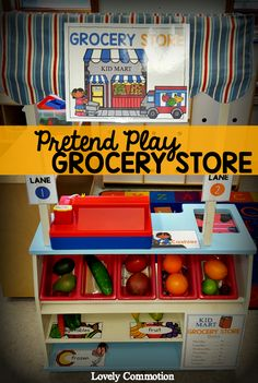 Pretend Play Grocery Store Printables. Make creating a grocery store in your dramatic play center easy!