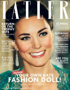 Kate Middleton for Tatler Magazine, UK, June 2014