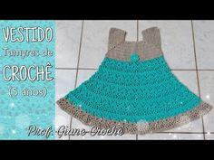 Crochet Girls Dress Pattern, Girls Dresses, Handmade, Kids Fashion, Crochet Toddler Dress, 5 Years, Ribbon Hair Ties, Infant Dresses, Baby Coming Home Outfit