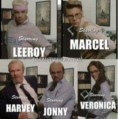 Has anyone else realized that Veronica wasn't actually named? She was called the Sexy Secretary.