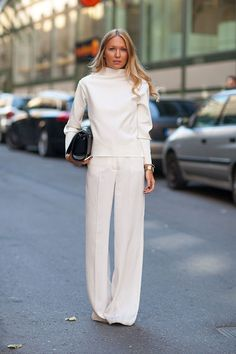 white pants for the win
