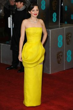 Marion Cotillard At The 2013 BAFTA Awards