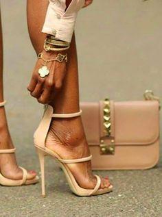 Valentino Handbag & Van Cleef & Arpels bracelet