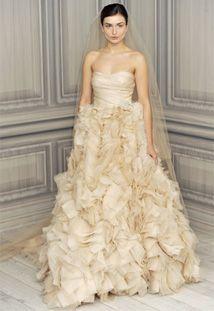 Monique Lhuillier Spring 2012 Bridal