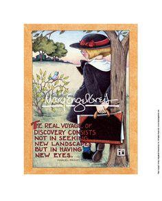 """Real Voyage"" Fine Print – Mary Engelbreit Studios"
