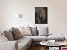 Idées Décoration, tableau elephant, portrait