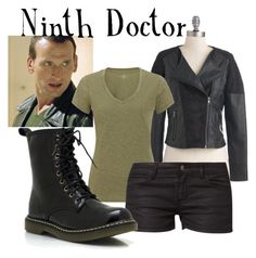 """Ninth Doctor for women"" by companionclothes ❤ liked on Polyvore featuring Jack BB Dakota, John Lewis, even&odd and doctor who"