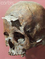 Anasazi skull with Arrow Damage | Flickr - Photo Sharing!