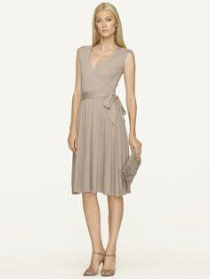 Wool-Blend Wrap Dress - Black Label  Sale - RalphLauren.com
