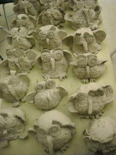 pinch pot owls