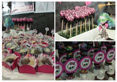 Monster High Party decor/sweets ideas